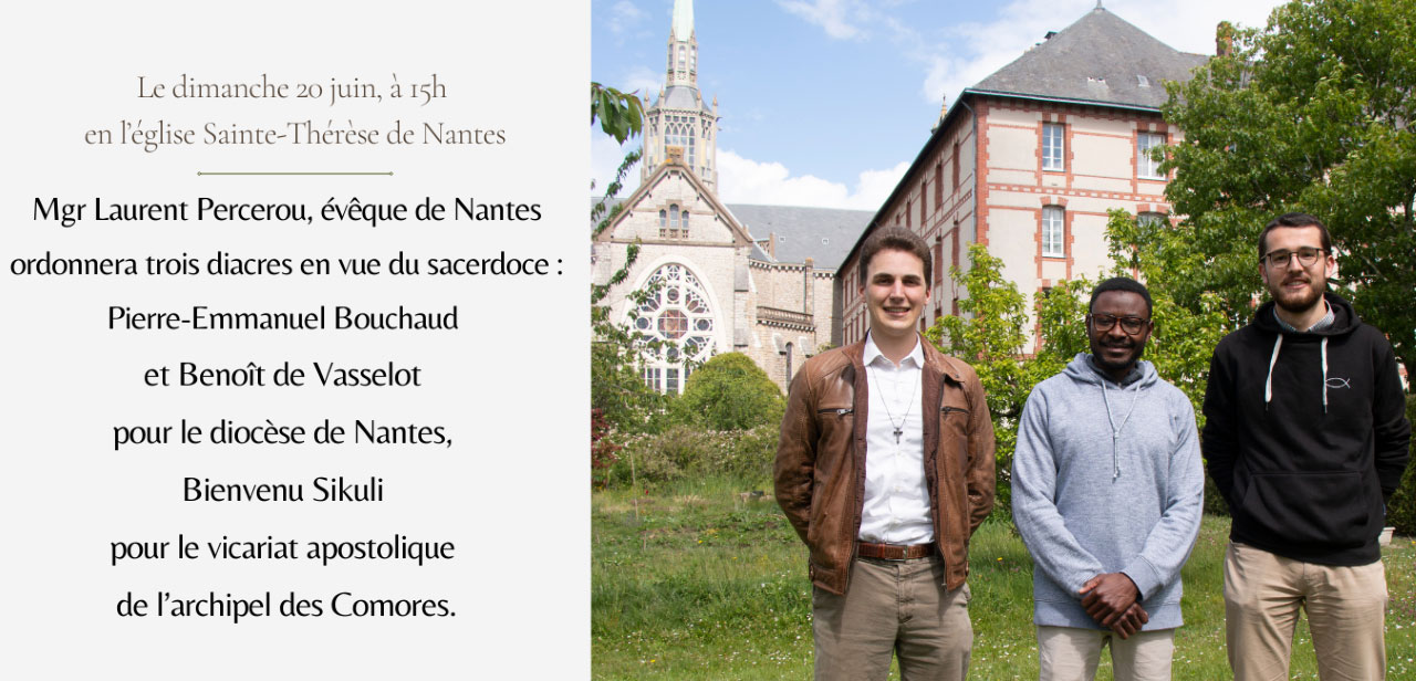 Ordinations diaconales du 20 juin 2021