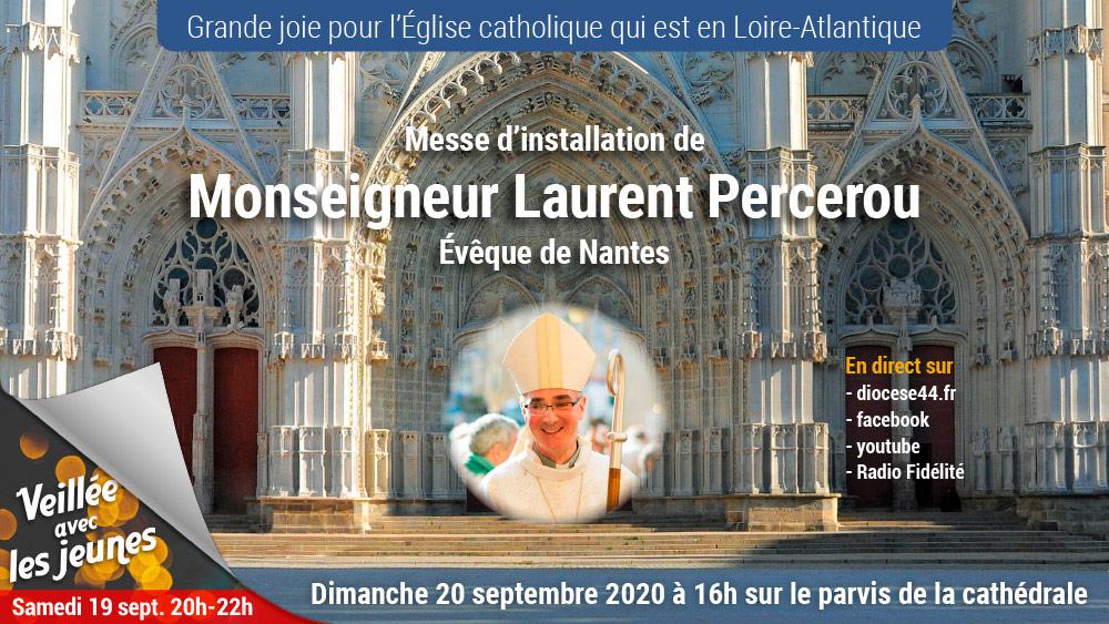 Le parvis de la Cathédrale de Nantes
