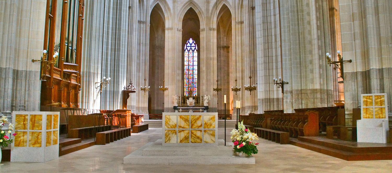 Choeur de la Cathédrale Saint-Pierre et saint-Paul de Nantes