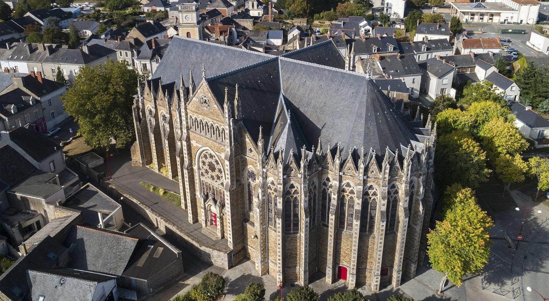 Église Saint-Christophe de Nort-sur-Erdre (paroisse Saint-Martin-du-Val-d'Erdre)