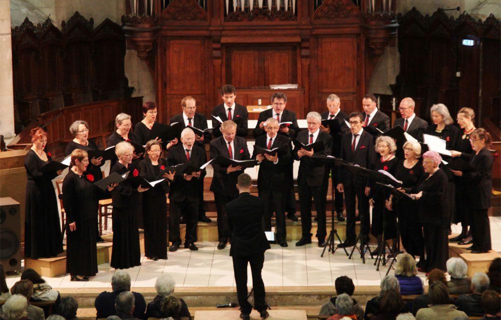 Concert du Chœur Vocadélys en l'église Saint-Martin du Cellier