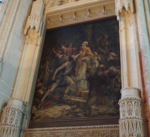 Massacre de saint Gohard (Cathédrale de Nantes)