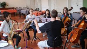 Stage des jeunes musiciens 2017