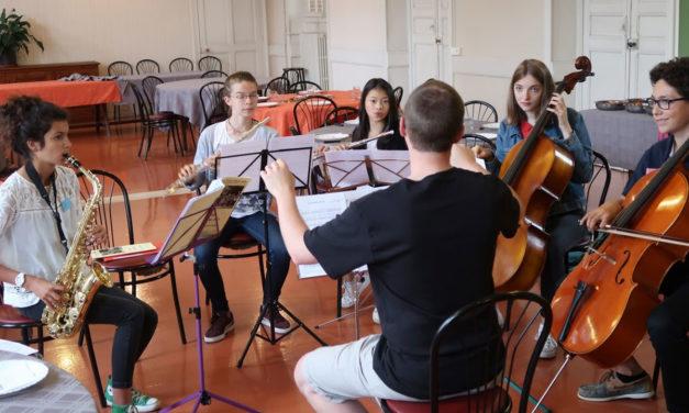 Stage des jeunes musiciens et chanteurs en liturgie