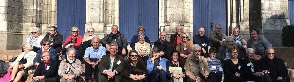 23 mars 2019 : Sortie annuelle des parents de prêtres, religieux et religieuses à ND des Gardes