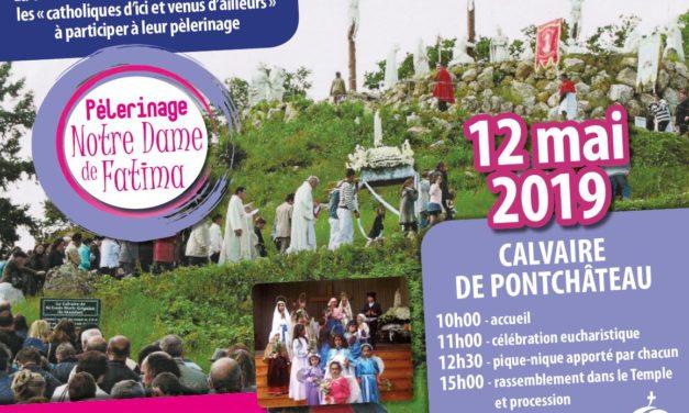 Les migrants de la province de Rennes en pèlerinage avec Notre Dame de Fatima
