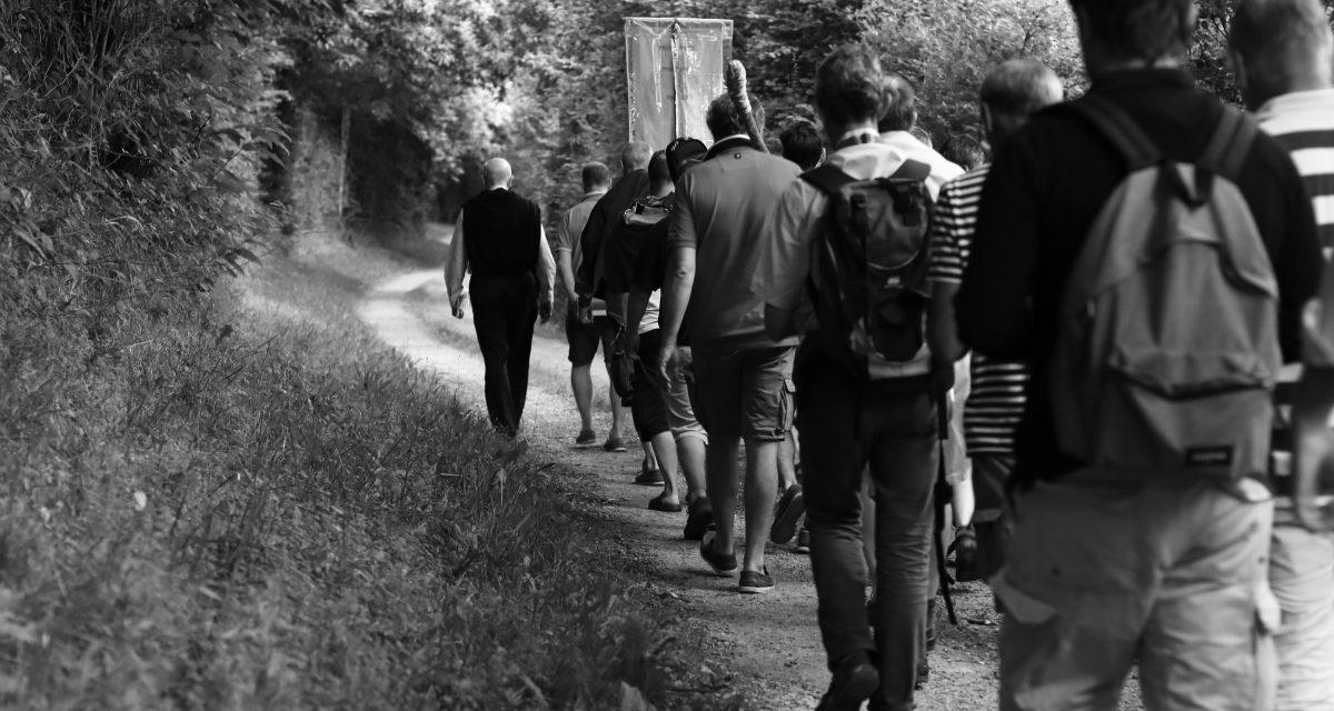 De Nantes à Pontchâteau, le pélé des époux et pères