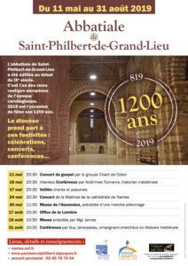 1200 ans de l'abbatiale de Saint-Philbert-de-Grand-Lieu