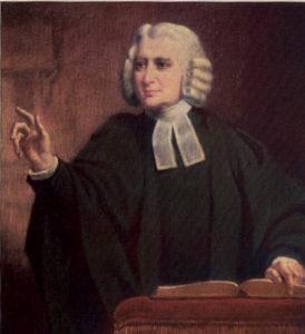 Charles Wesley. Pasteur Méthodiste