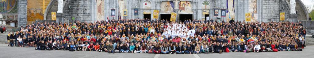 Les pèlerins du diocèse de Nantes