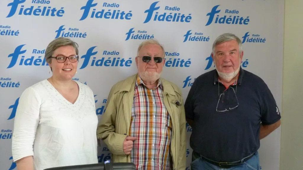 De gauche à droite : Isabelle Nagard, Jean-François Neau et Claude Marion