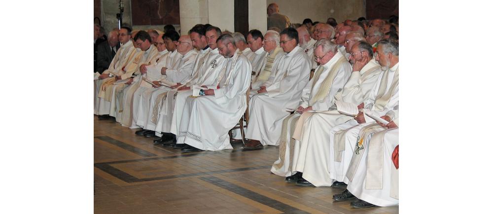 2019-2020 : Retraites et récollection pour les prêtres du diocèse de Nantes