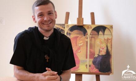 Thomas Cruchet, jeune prêtre diocésain