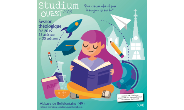 Studium Ouest – cinq jours de théologie pour les étudiants