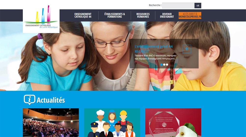 La DDEC de Loire-Atlantique recrute un(e) Webmaster-Infographiste
