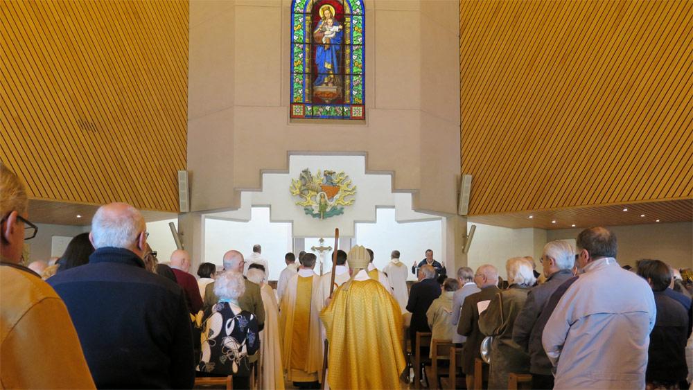 25e anniversaire de la consécration de Notre-Dame des Lumières à Nantes
