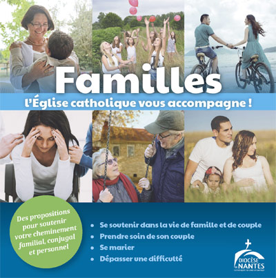 Plaquette de la pastorale des familles