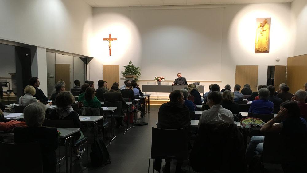 La rentrée des étudiants en théologie