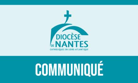 Communiqué officiel : Administration du diocèse