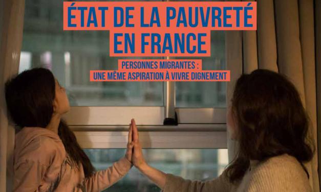 État de la pauvreté en France 2019