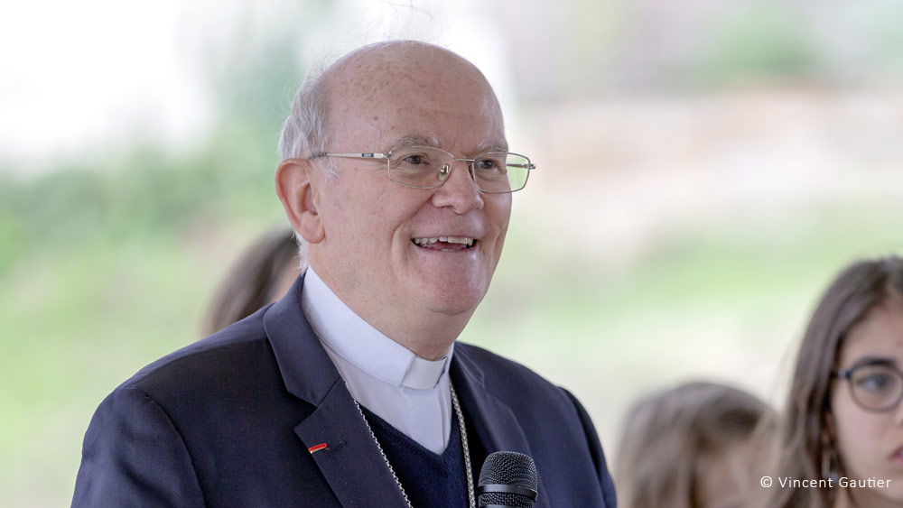 Mgr Jean-Paul James, nommé archevêque de Bordeaux