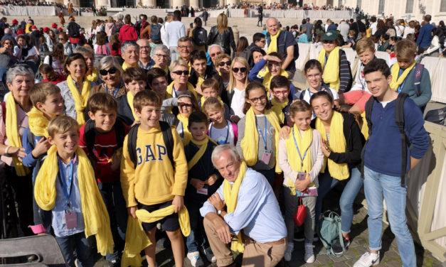 Rome pour les grands parents et leurs petits enfants
