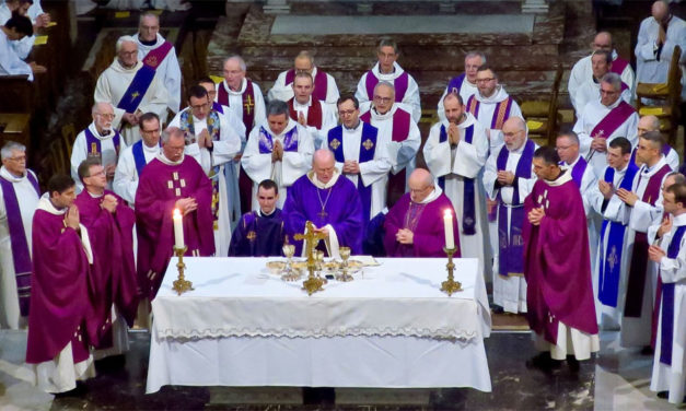 Retour sur l'ordination diaconale de Jean-Hugues Petit