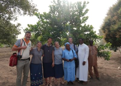 La délégation du diocèse de Nantes