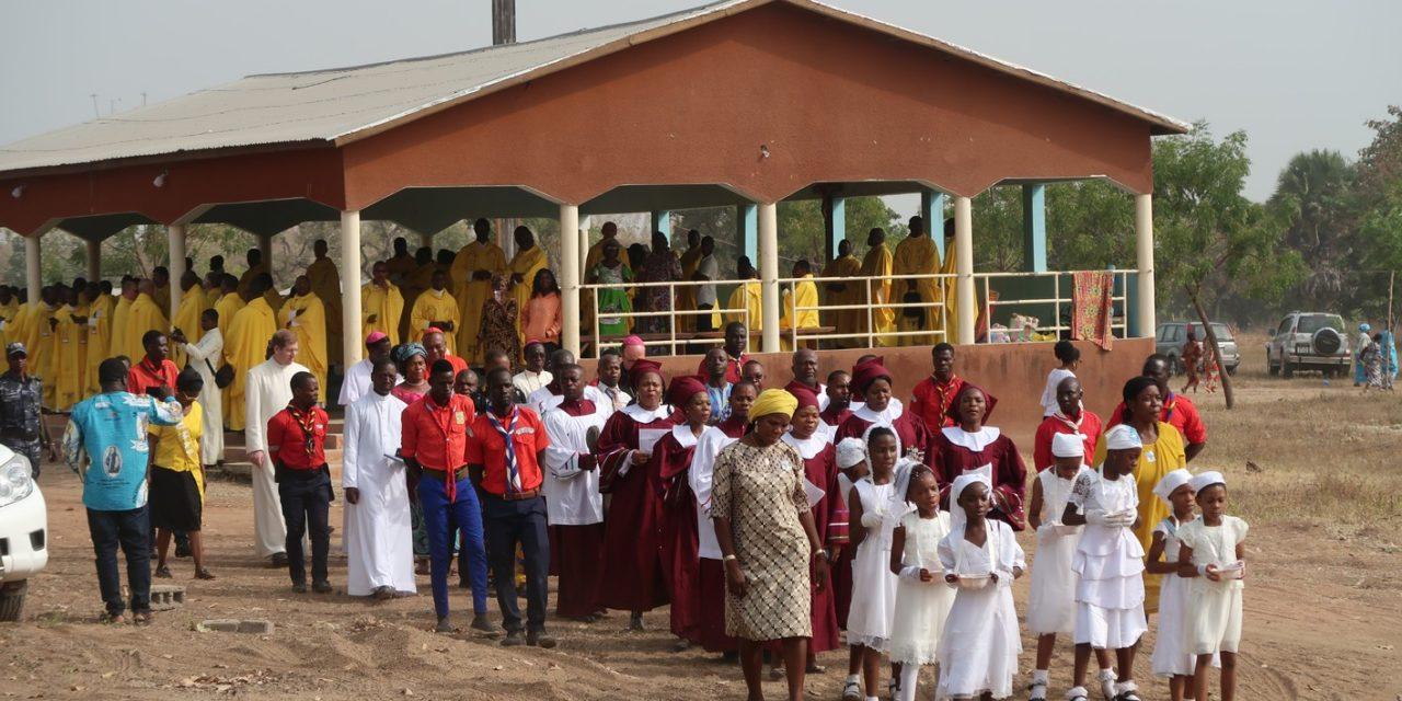 Grande fête pour notre église-sœur de Parakou au Bénin