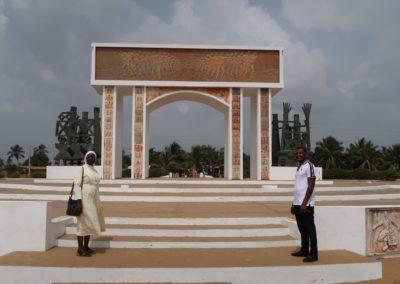 Ouidah : Porte du non retour