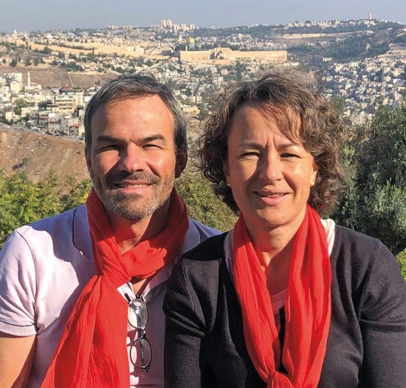Vincent et Celine Bonnet