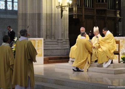 Remise de l'évangéliaire