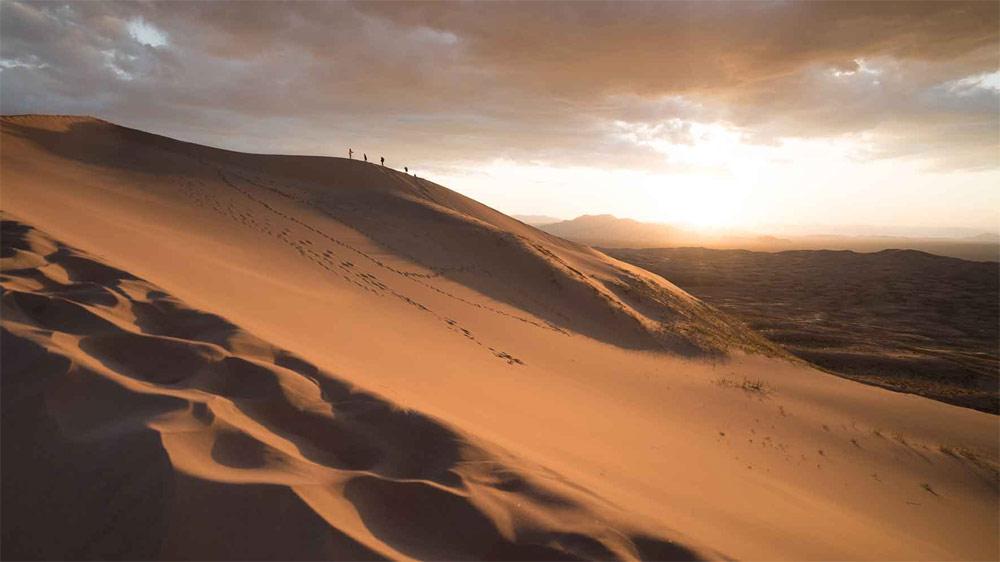 La force du désert