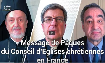 Message du conseil d'Eglises chrétiennes en France