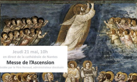 Messe de l'Ascension à la Cathédrale de Nantes