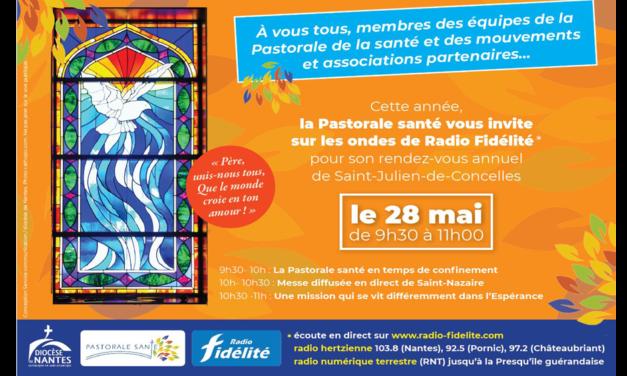 28 mai : Journée de la Pastorale Santé