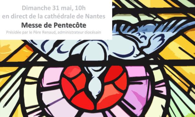 Messe de la Pentecôte à la Cathédrale de Nantes