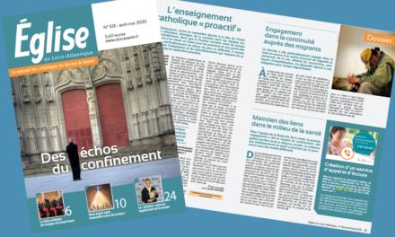 """""""Eglise en Loire-Atlantique"""" un numéro avril-mai"""