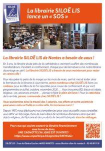 La librairie Siloë Lis lance un SOS
