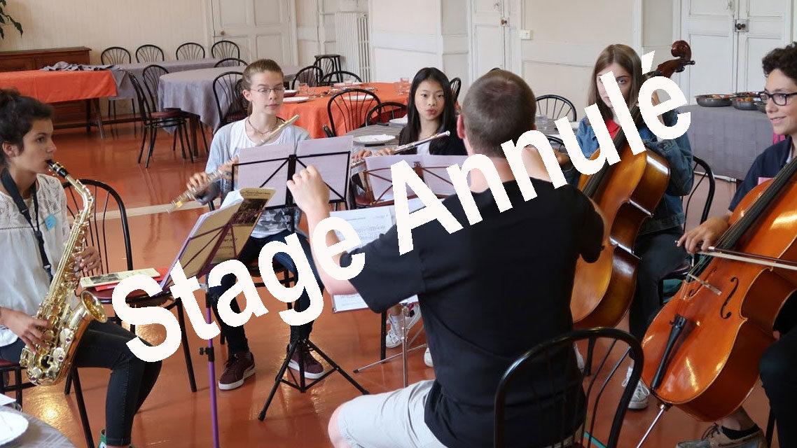 Stage des Jeunes Musiciens en Liturgie ANNULÉ