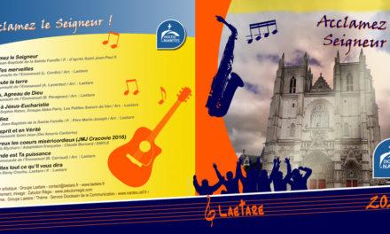 Le nouveau CD de Laetare est en vente chez Siloë