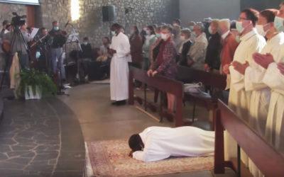 26 septembre 2020 : Ordination diaconale en vue du sacerdoce