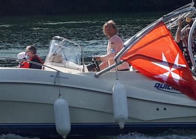 Un bateau adapté