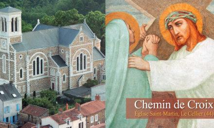 Le Chemin de Croix de l'église Saint-Martin du Cellier