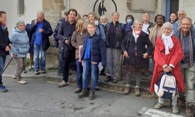 La Fraternité du Tro-Breiz sur les bords de la Vilaine