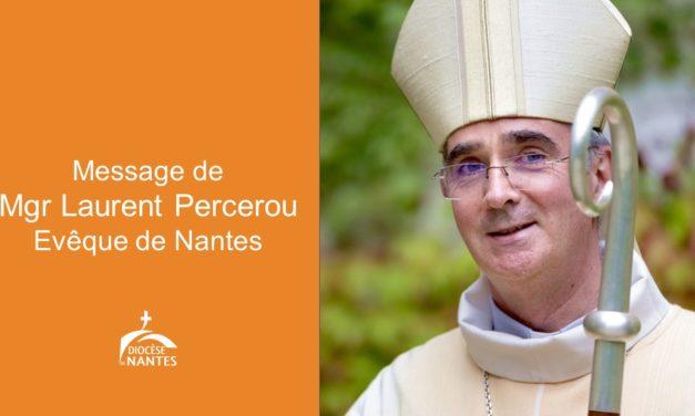 Message de Mgr Laurent Percerou