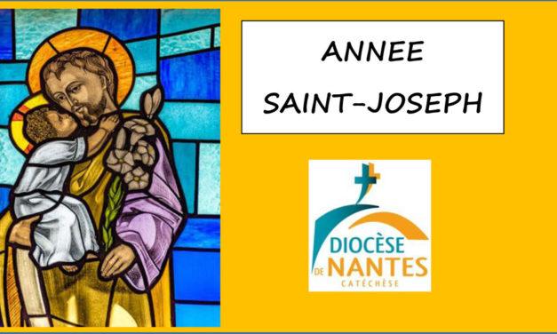L'année Saint Joseph avec le service de la catéchèse