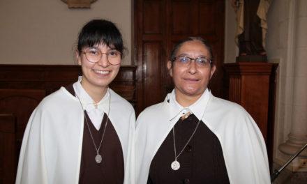 Premiers vœux de sœur Sindy à ND de Bethléem à Nantes