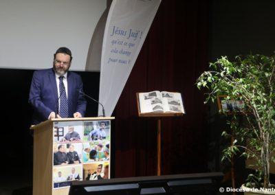 Le Rabbin régional, Ariel Bendavid.