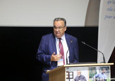 Jean-Dominique Durand, président de l'AJCF.